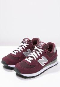New Balance - M574 - Baskets basses - burgundy - 2