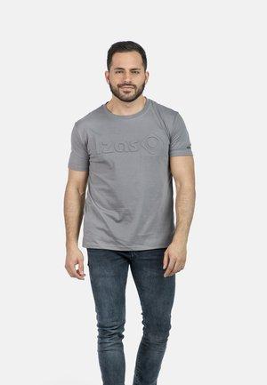 T-shirt imprimé - charcoal