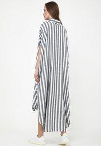 Madam-T - KORNA - Maxi dress - schwarz/weiß - 2