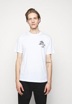DONSAI - Triko spotiskem - white