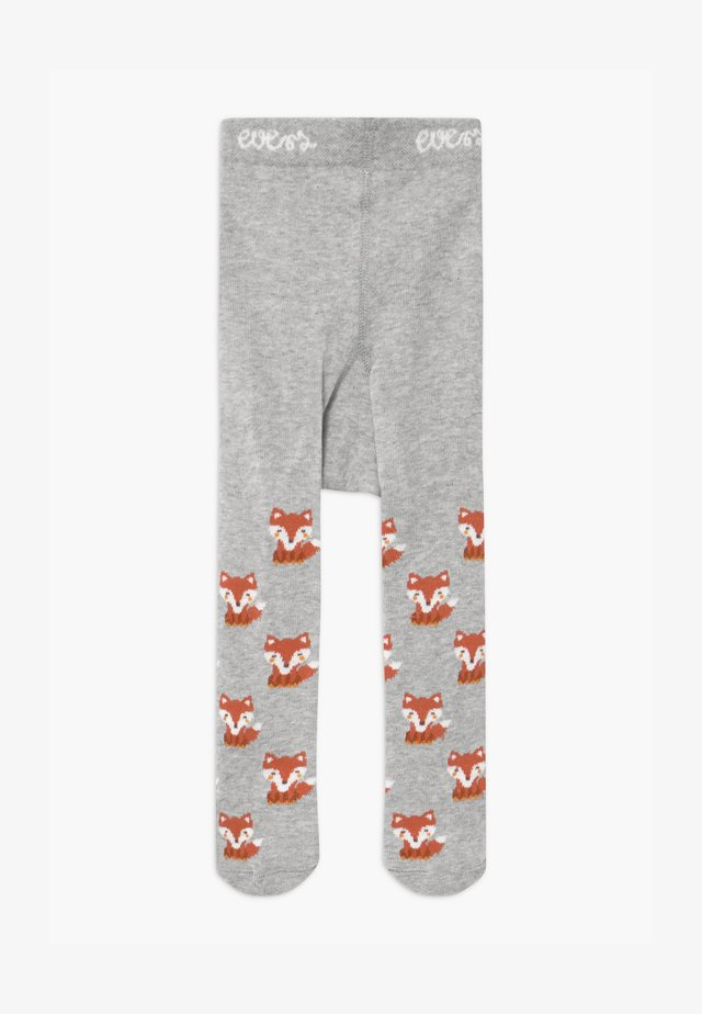 LITTLE FOX UNISEX - Tights - grau