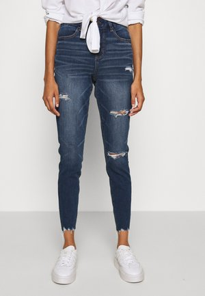 CURVY HI RISE DREAM - Slim fit jeans - medium destroy