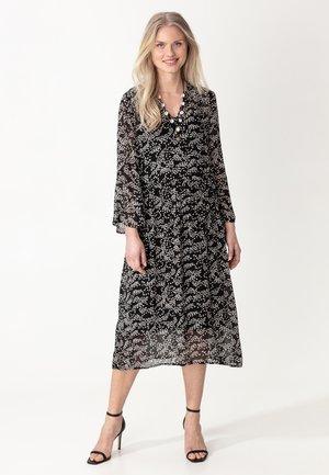 DRESS MINDY - Korte jurk - black