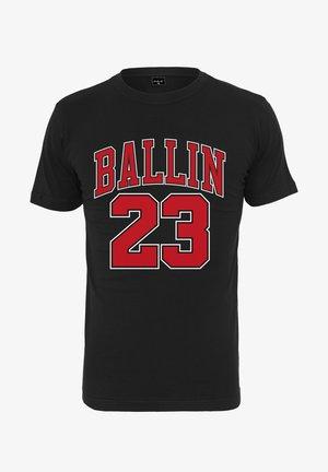 BALLIN 23 - T-shirt print - black