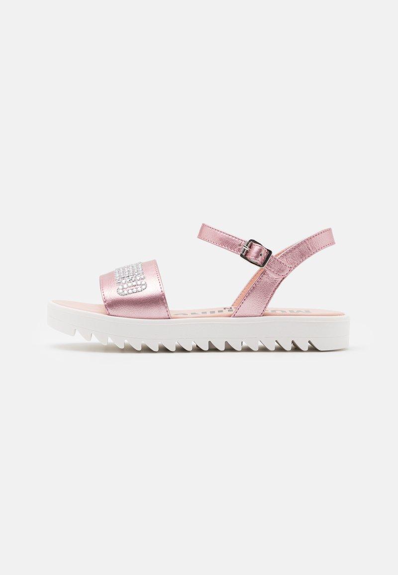 MOSCHINO - Sandals - light pink