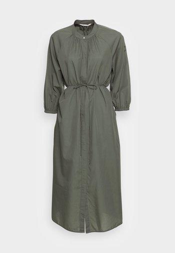 DRESS FEMININE SLEEVE MIDI LENGTH - Blusenkleid - olive garden