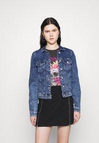 ONLY - ONLTIA LIFE  - Denim jacket - medium blue denim - 0