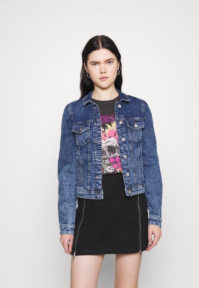 ONLY - ONLTIA LIFE  - Denim jacket - medium blue denim