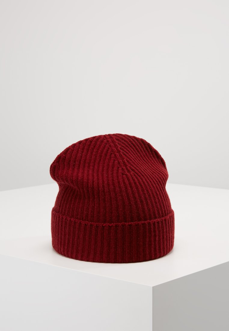 Johnstons of Elgin - CASHMERE BEANIE - Beanie - cabernet