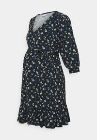 MAMALICIOUS - MLKADY SHORT DRESS - Žerzejové šaty - black - 0