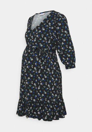 MLKADY SHORT DRESS - Jerseykjole - black