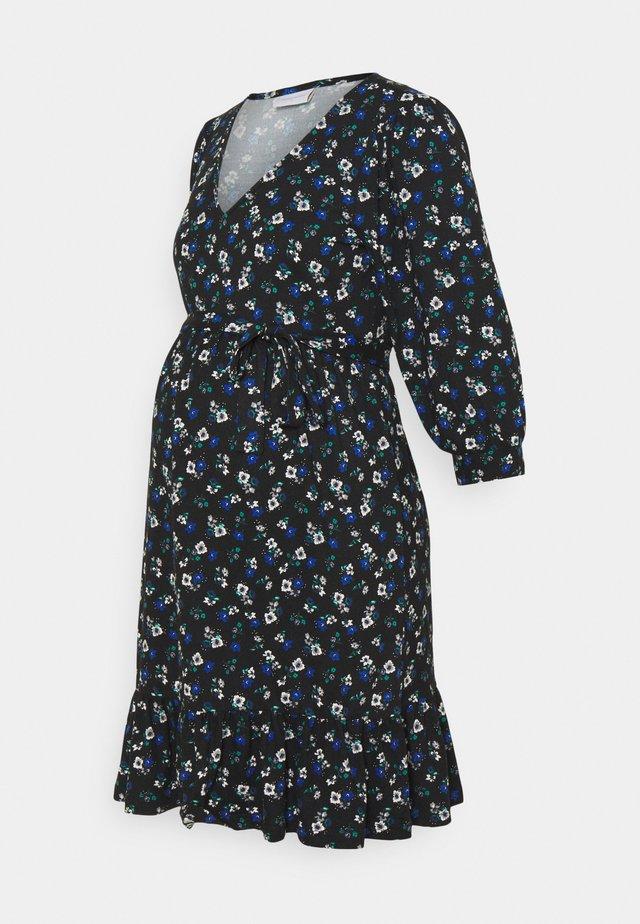 MLKADY SHORT DRESS - Žerzejové šaty - black
