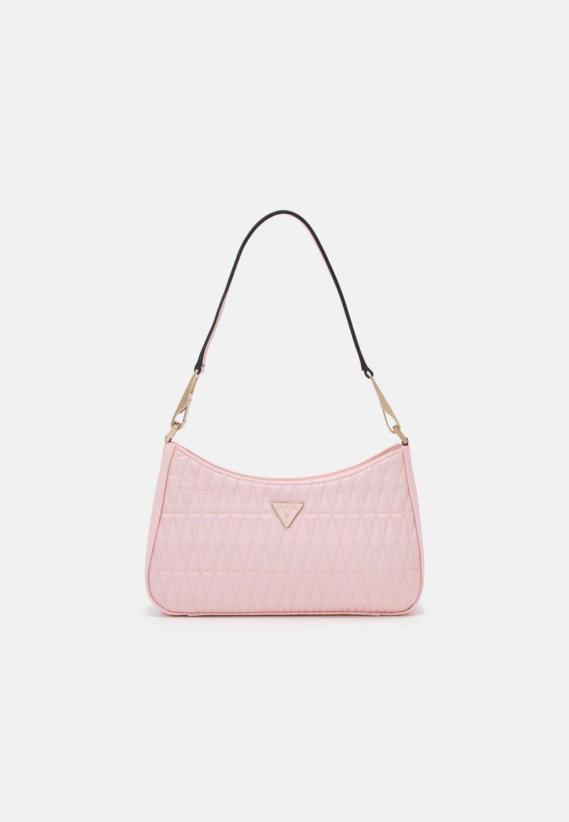 Guess - LAYLA TOP ZIP SHOULDER - Handbag - pink