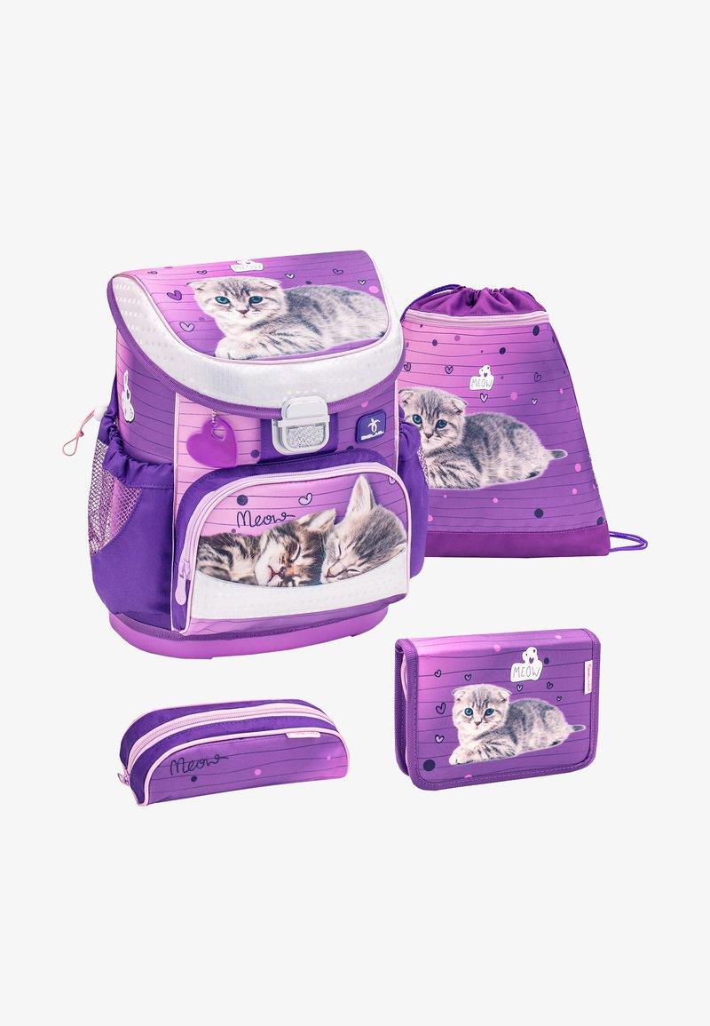 Belmil - SET - School bag - purple