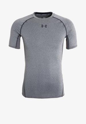 Camiseta estampada - dunkelgrau/schwarz