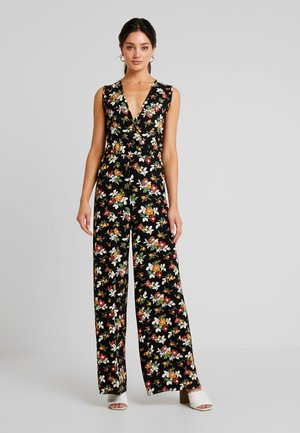 Overall / Jumpsuit /Buksedragter - white/red/black