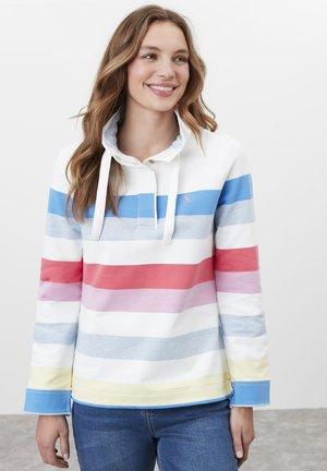 Sweatshirt - bunte streifen