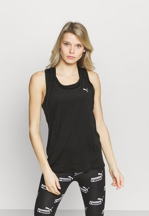 TRAIN FAVORITE TANK - Treningsskjorter - black