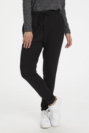 LINDA  - Trousers - black deep