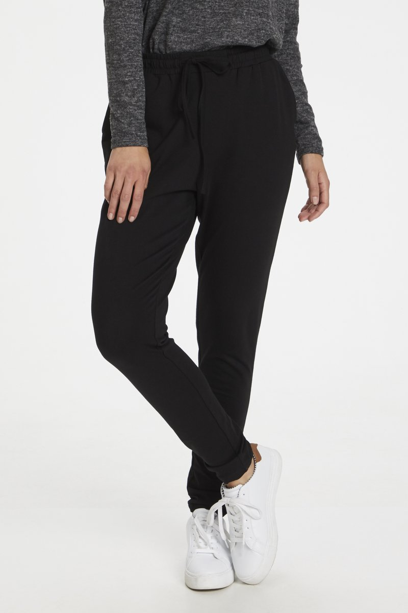 Kaffe - LINDA  - Trousers - black deep
