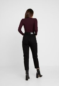 Dr.Denim Petite - NORA - Relaxed fit jeans - black - 2