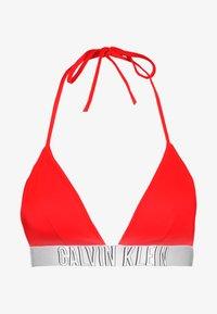 Calvin Klein Swimwear - INTENSE POWER FIXED TRIANGLE - Bikini top - fiery red - 3
