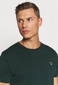 GANT - THE ORIGINAL - T-shirt - bas - tartan green - 3