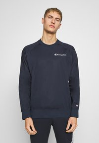 Champion - ELASTIC CREWNECK - Bluza - dark blue - 0