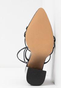 EGO - HALO - Sandalen met hoge hak - black - 6