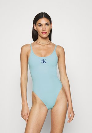 ONE SCOOP BACK ONE PIECE - Swimsuit - soft turquoise