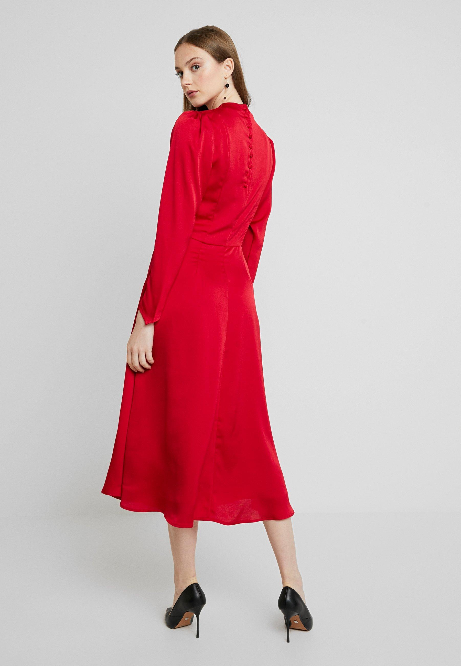 YAS YASLULU DRESS - Maxi dress - chili pepper