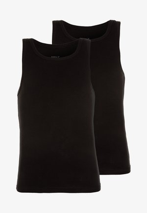 NMMTANK 2 PACK - Undershirt - black