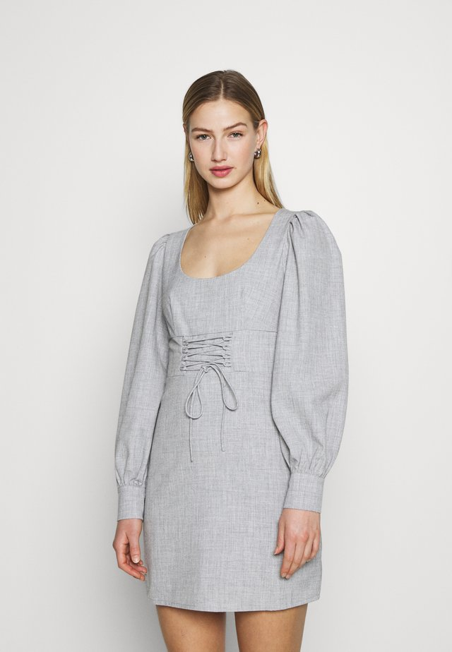 GEOFFREY DRESS - Korte jurk - grey