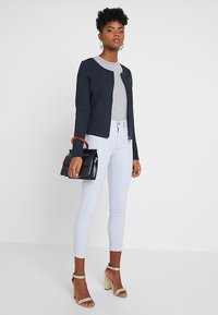 Vila - VINAJA NEW SHORT JACKET - Summer jacket - dark blue - 1