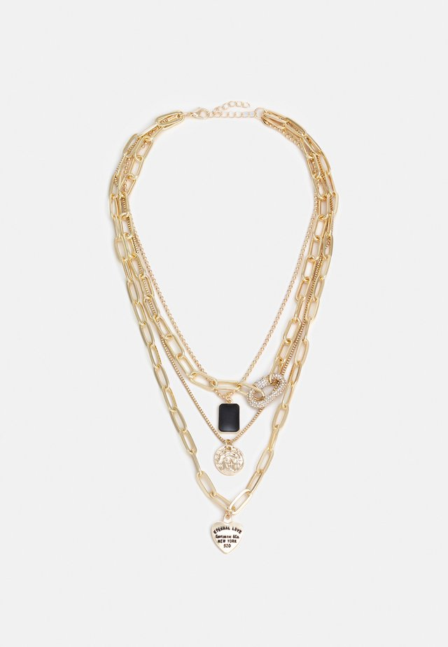 GLAMMI COMBI NECKLACE - Necklace - gold-coloured