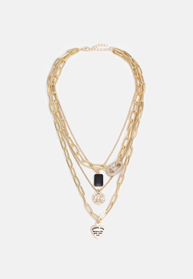 Fire & Glory - GLAMMI COMBI NECKLACE - Necklace - gold-coloured