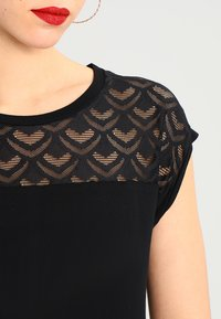 ONLY - T-shirt imprimé - black - 3