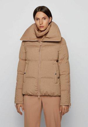 PARESTA1 - Down jacket - light brown