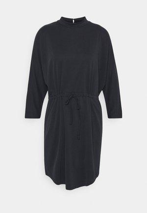 HALLIMA - Jersey dress - black