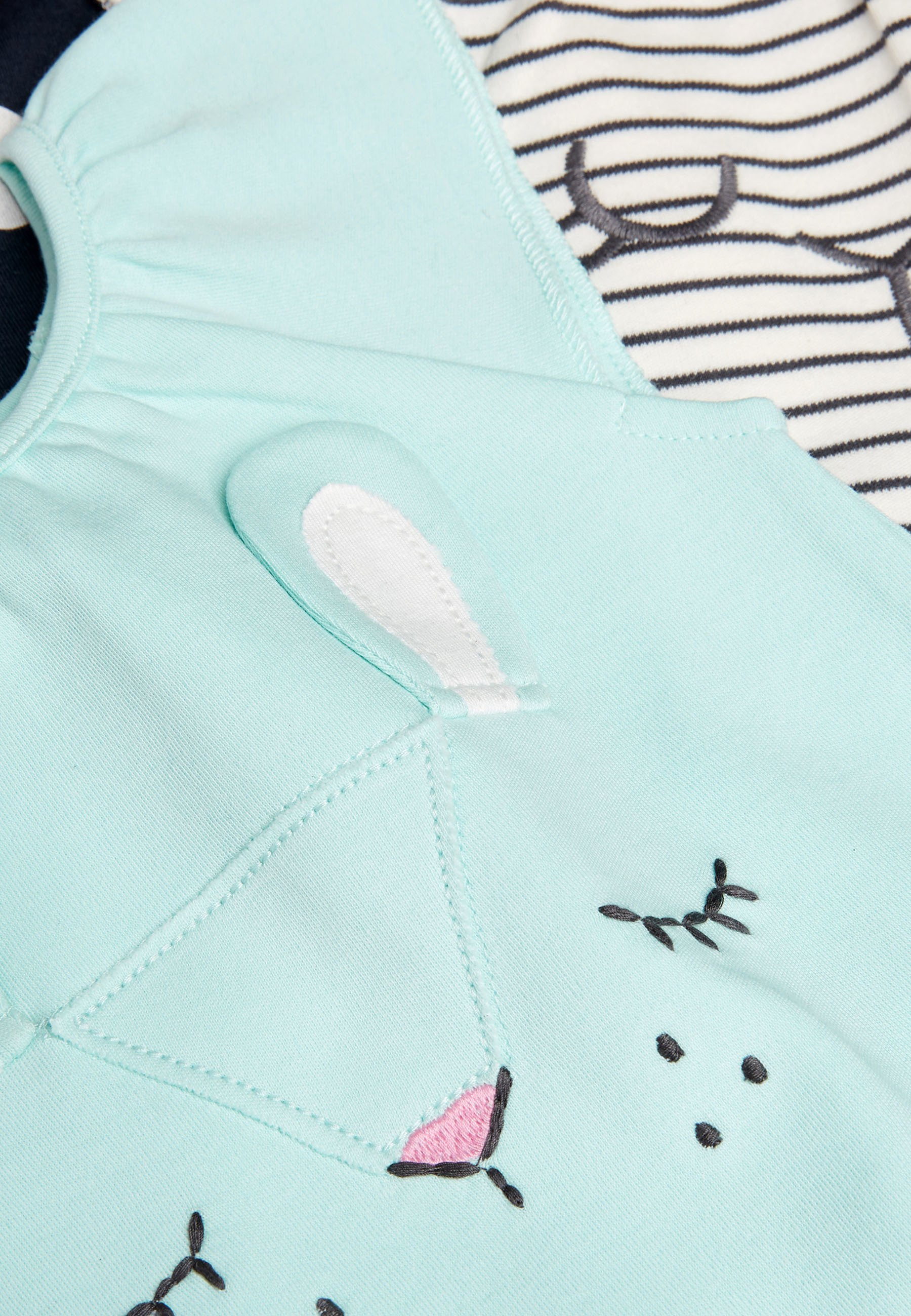 Kinder MINT 3 PACK CHARACTER ROMPERS (0MTHS-3YRS) - Jumpsuit