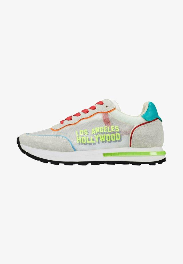 SLIVER RUNNER-NAKED LA - Sneakers laag - white