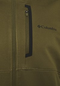 Columbia - TECH TRAIL™ HOODIE - Fleecejacka - new olive/safari - 2
