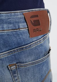 G-Star - 3301 SLIM - Jeansy Slim Fit - elto superstretch/vintage medium aged - 5