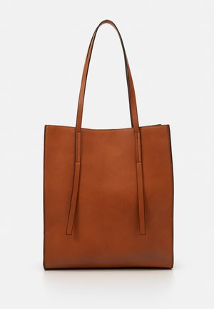 Shopping bags - cognac