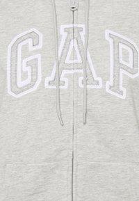 GAP - Sweater met rits - grey heather - 2