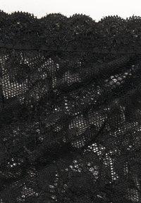Nly by Nelly - LOVIN HIGH WAIST PANTY - Culotte - black - 2