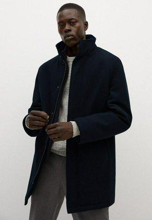NOBIX - Trenchcoat - dunkles marineblau