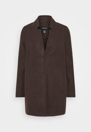 KATRINE - Krátký kabát - chocolate plum