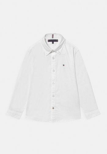 BOYS STRETCH OXFORD - Košile - white