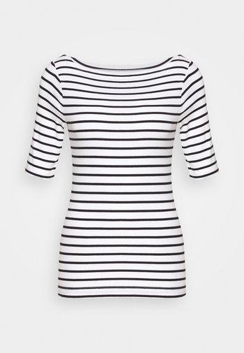 T-shirts med print - black/white
